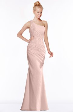 ColsBM Michelle Dusty Rose Simple A-line Sleeveless Chiffon Floor Length Bridesmaid Dresses