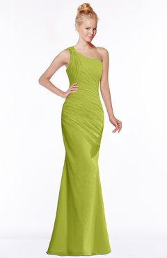 ColsBM Michelle Green Oasis Simple A-line Sleeveless Chiffon Floor Length Bridesmaid Dresses