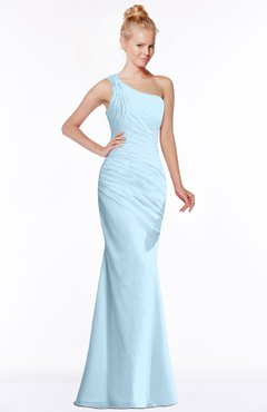 ColsBM Michelle Ice Blue Simple A-line Sleeveless Chiffon Floor Length Bridesmaid Dresses