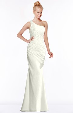 ColsBM Michelle Ivory Simple A-line Sleeveless Chiffon Floor Length Bridesmaid Dresses