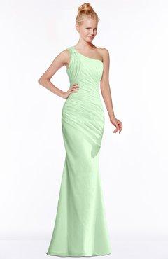 ColsBM Michelle Light Green Simple A-line Sleeveless Chiffon Floor Length Bridesmaid Dresses