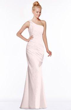 ColsBM Michelle Light Pink Simple A-line Sleeveless Chiffon Floor Length Bridesmaid Dresses