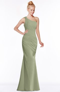 ColsBM Michelle Moss Green Simple A-line Sleeveless Chiffon Floor Length Bridesmaid Dresses