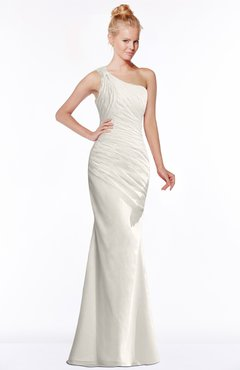 ColsBM Michelle Off White Simple A-line Sleeveless Chiffon Floor Length Bridesmaid Dresses