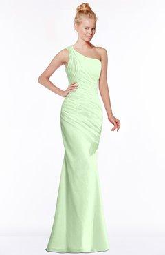 ColsBM Michelle Pale Green Simple A-line Sleeveless Chiffon Floor Length Bridesmaid Dresses