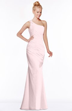 ColsBM Michelle Petal Pink Simple A-line Sleeveless Chiffon Floor Length Bridesmaid Dresses