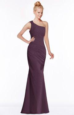 1239675041a9 ColsBM Michelle Plum Simple A-line Sleeveless Chiffon Floor Length  Bridesmaid Dresses