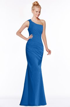 ColsBM Michelle Royal Blue Simple A-line Sleeveless Chiffon Floor Length Bridesmaid Dresses