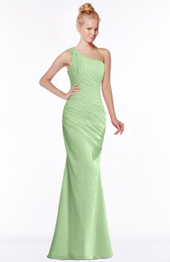 e96daff205c6 ColsBM Michelle Sage Green Simple A-line Sleeveless Chiffon Floor Length  Bridesmaid Dresses