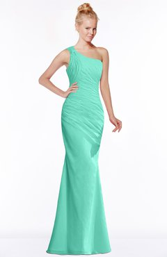 ColsBM Michelle Seafoam Green Simple A-line Sleeveless Chiffon Floor Length Bridesmaid Dresses