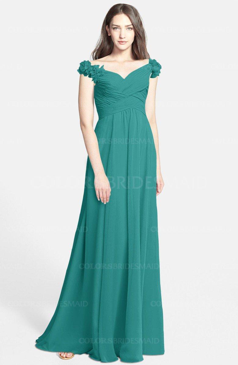 ColsBM Carolina Emerald Green Bridesmaid Dresses - ColorsBridesmaid