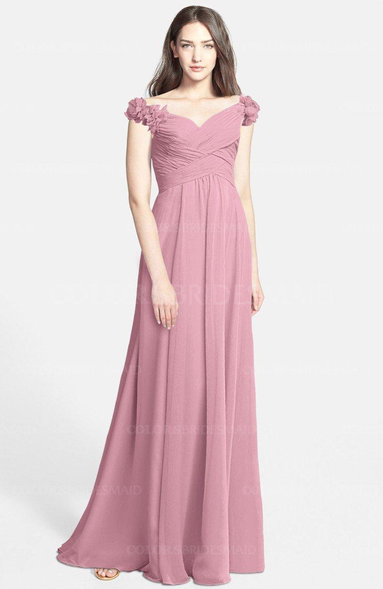 ColsBM Carolina Light Coral Bridesmaid Dresses - ColorsBridesmaid