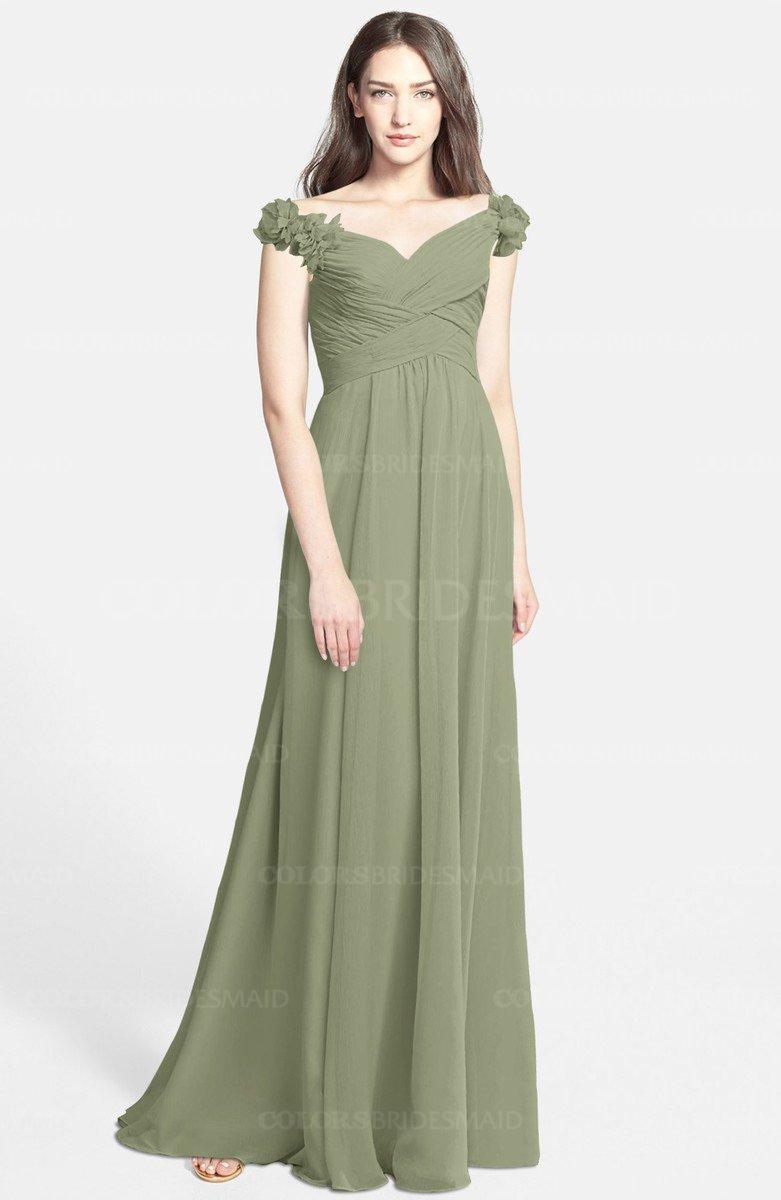ColsBM Carolina Moss Green Bridesmaid Dresses - ColorsBridesmaid
