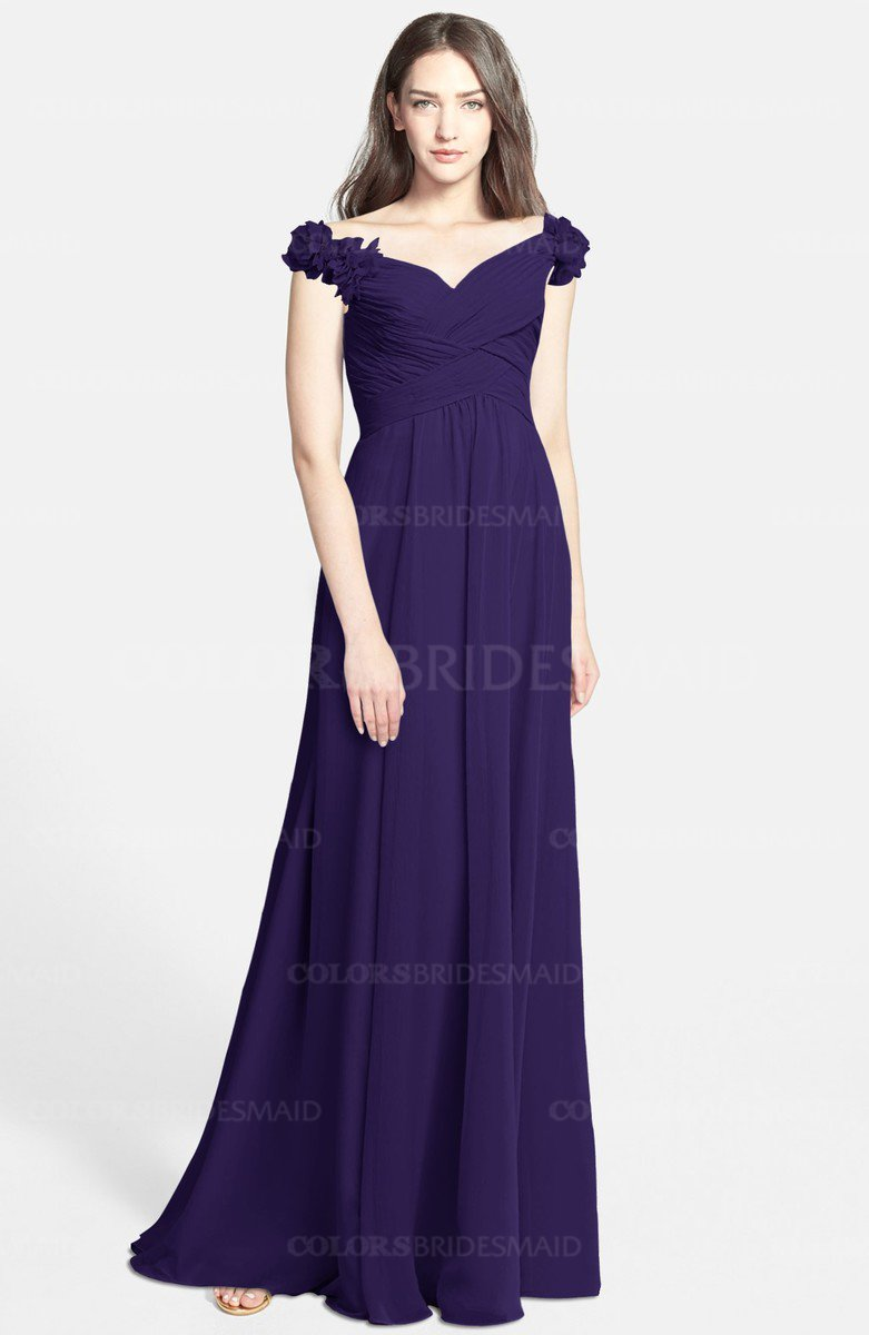 Unusual Purple Chiffon Bridesmaid Dresses Gallery - Wedding Dress ...
