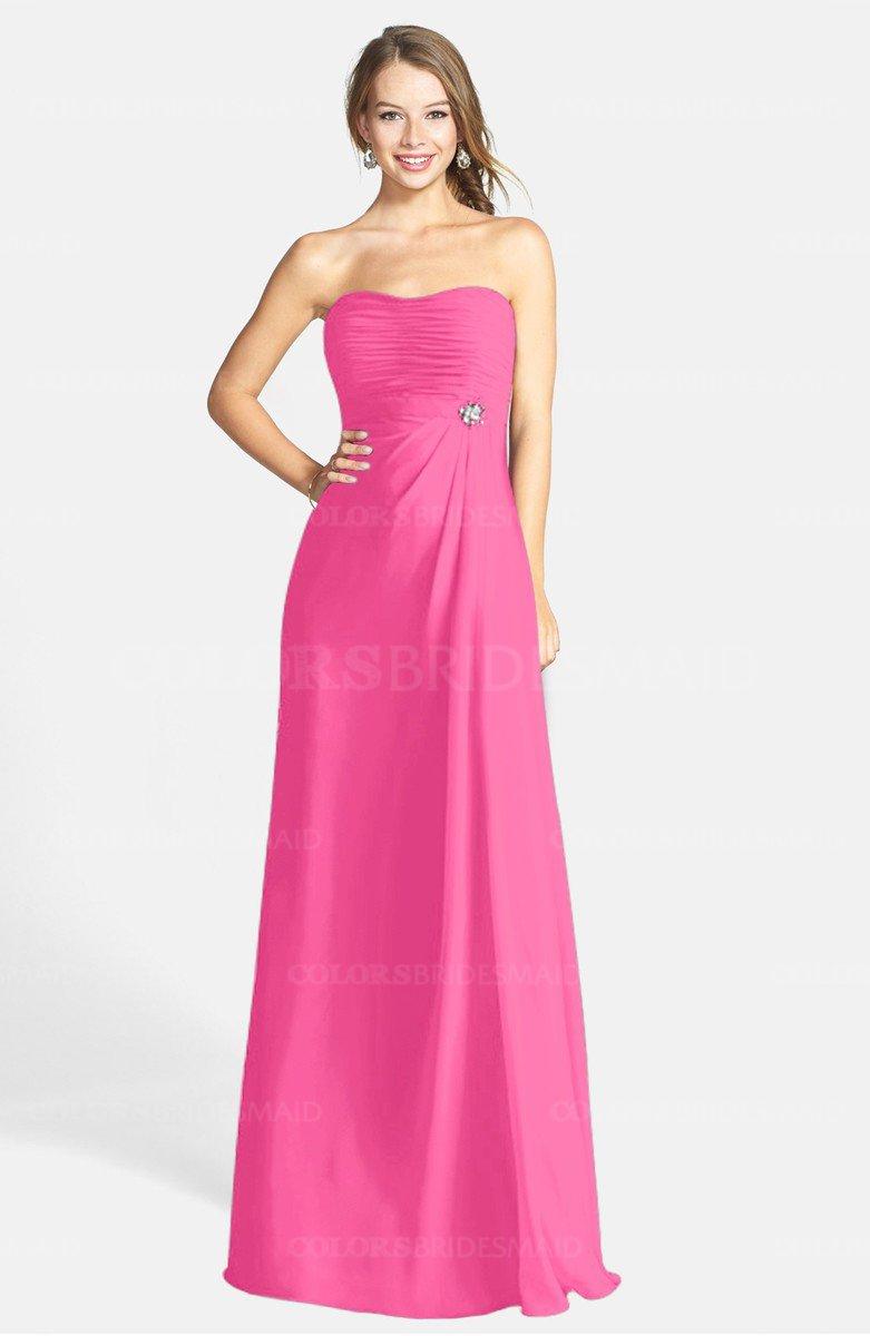 ColsBM Adley Rose Pink Bridesmaid Dresses - ColorsBridesmaid