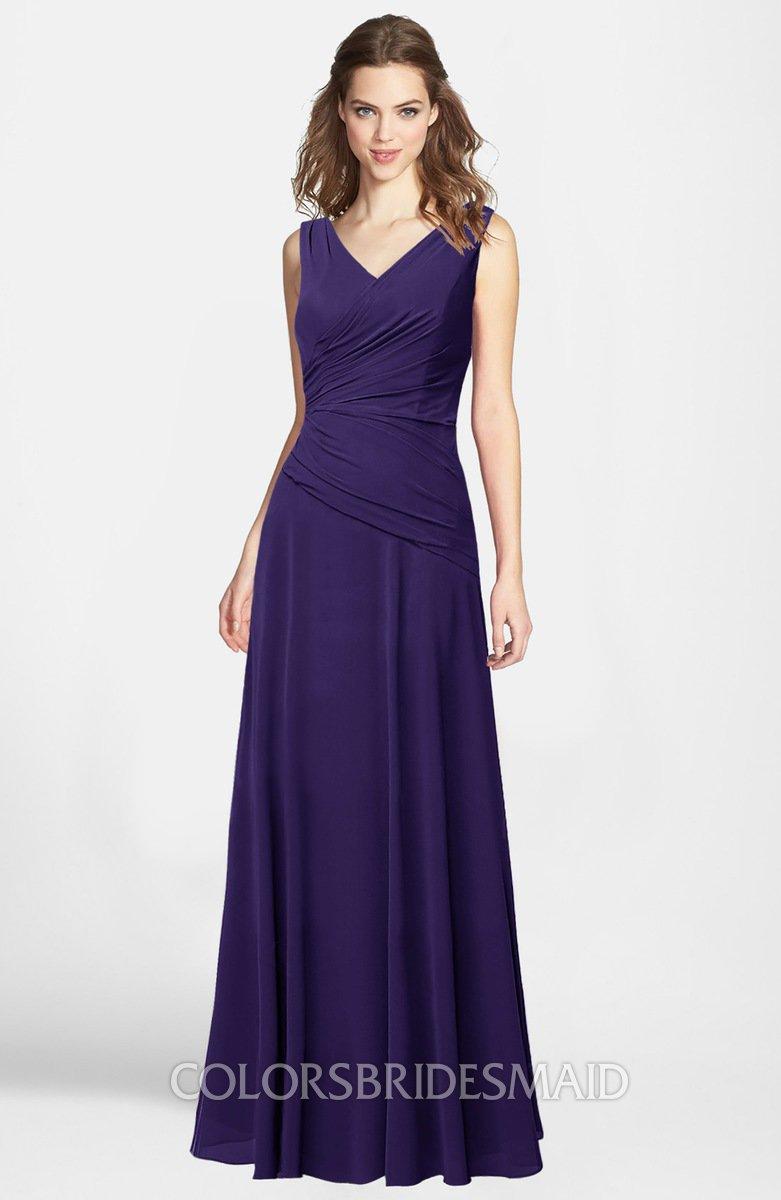 ColsBM Lina Royal Purple Bridesmaid Dresses - ColorsBridesmaid