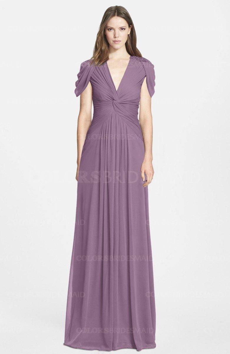 Colsbm Rosie Mauve Bridesmaid Dresses Colorsbridesmaid