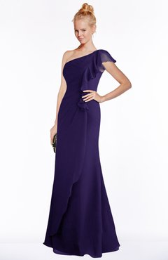 Stunning Royal Purple Color Bridesmaid Dresses for A Fall ...