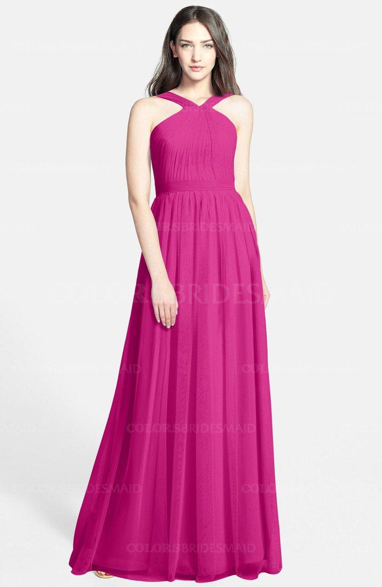 ColsBM Adele Hot Pink Bridesmaid Dresses - ColorsBridesmaid