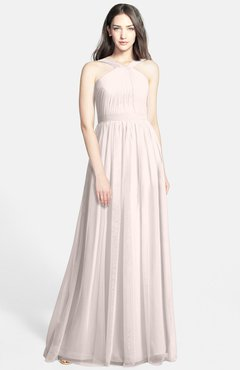 fbf9350e0bc ColsBM Adele Rosewater Pink Classic Thick Straps Zip up Chiffon30 Floor  Length Ribbon Bridesmaid Dresses