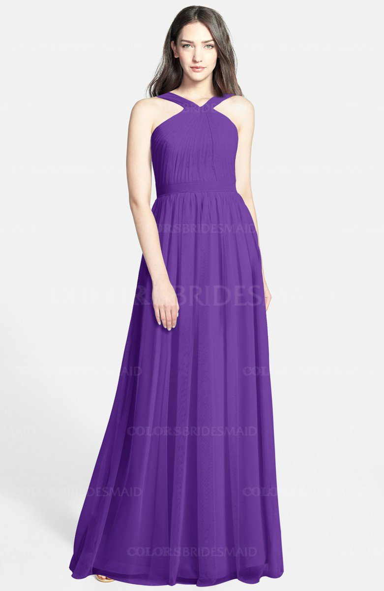 ColsBM Adele Royal Purple Bridesmaid Dresses - ColorsBridesmaid