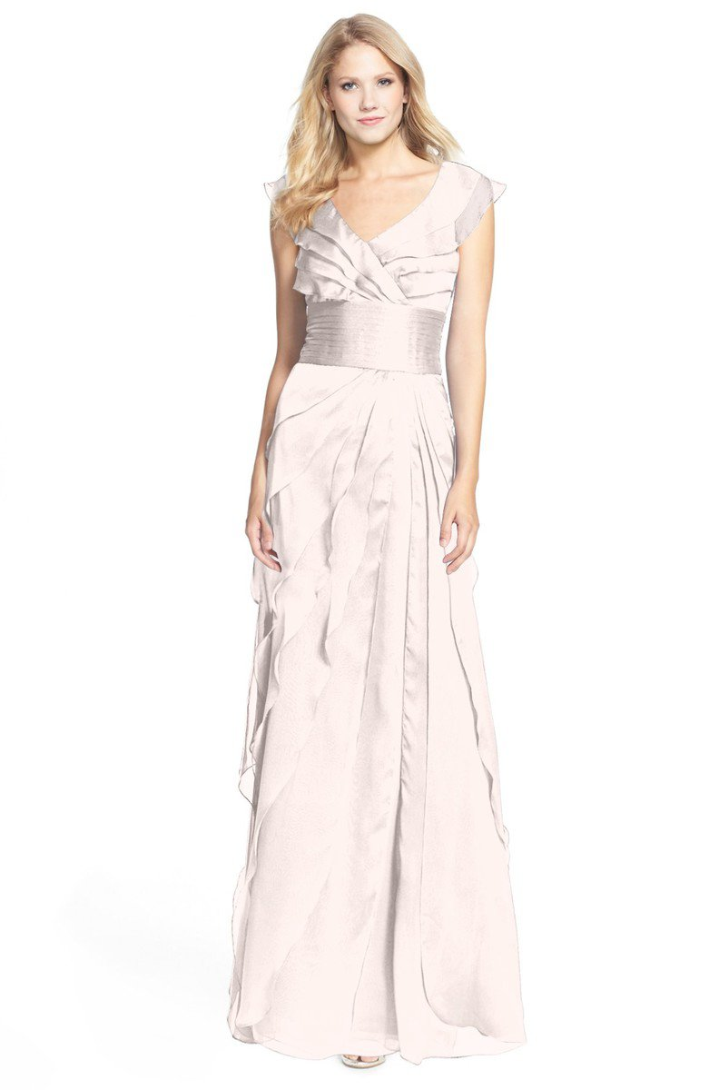 Rosewater pink gorgeous a line v neck chiffon30 floor length gorgeous a line v neck chiffon30 floor length bridesmaid dresses ombrellifo Image collections
