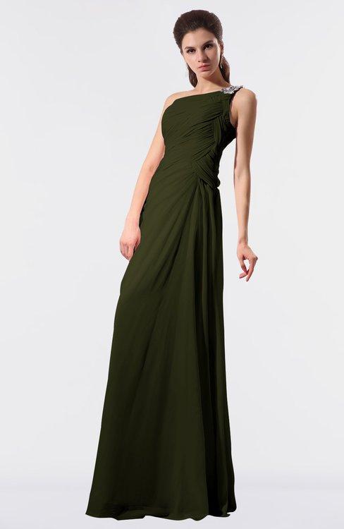 ColsBM Moriah Beech Simple Sheath Sleeveless Chiffon Floor Length Sequin Bridesmaid Dresses