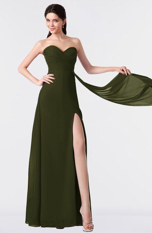 ColsBM Vivian Beech Modern A-line Sleeveless Backless Split-Front Bridesmaid Dresses