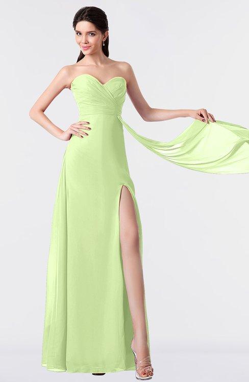 ColsBM Vivian Butterfly Modern A-line Sleeveless Backless Split-Front Bridesmaid Dresses