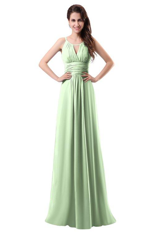 ColsBM Daisy Seacrest Simple Column Scoop Chiffon Ruching Bridesmaid Dresses