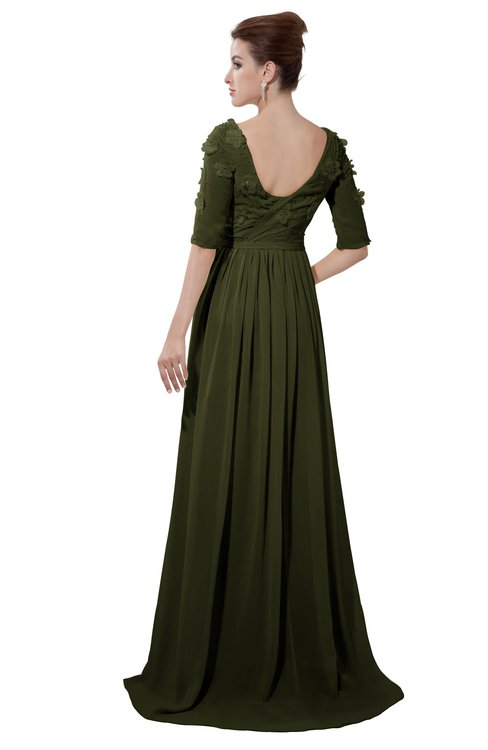 ColsBM Emily Beech Casual A-line Sabrina Elbow Length Sleeve Backless Beaded Bridesmaid Dresses