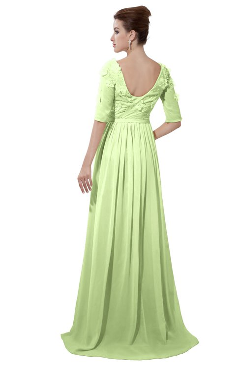 ColsBM Emily Butterfly Casual A-line Sabrina Elbow Length Sleeve Backless Beaded Bridesmaid Dresses