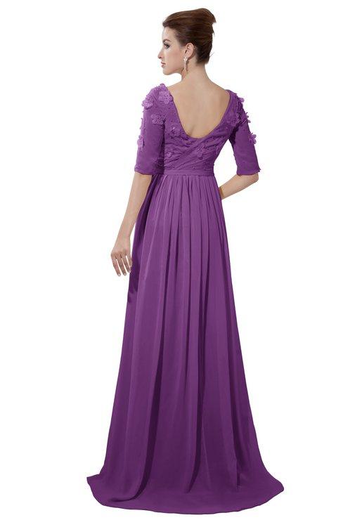 ColsBM Emily Dahlia Casual A-line Sabrina Elbow Length Sleeve Backless Beaded Bridesmaid Dresses