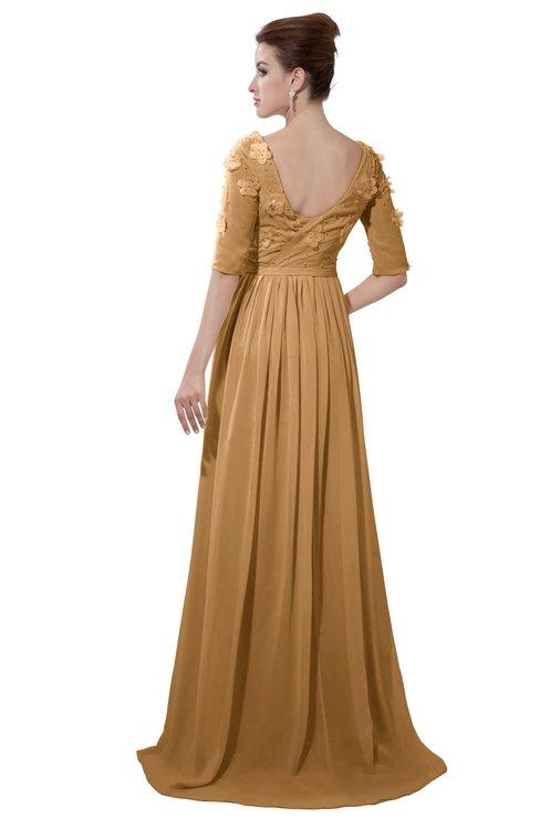 ColsBM Emily Doe Casual A-line Sabrina Elbow Length Sleeve Backless Beaded Bridesmaid Dresses