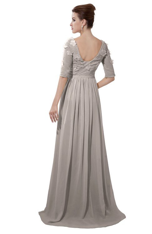 ColsBM Emily Fawn Casual A-line Sabrina Elbow Length Sleeve Backless Beaded Bridesmaid Dresses