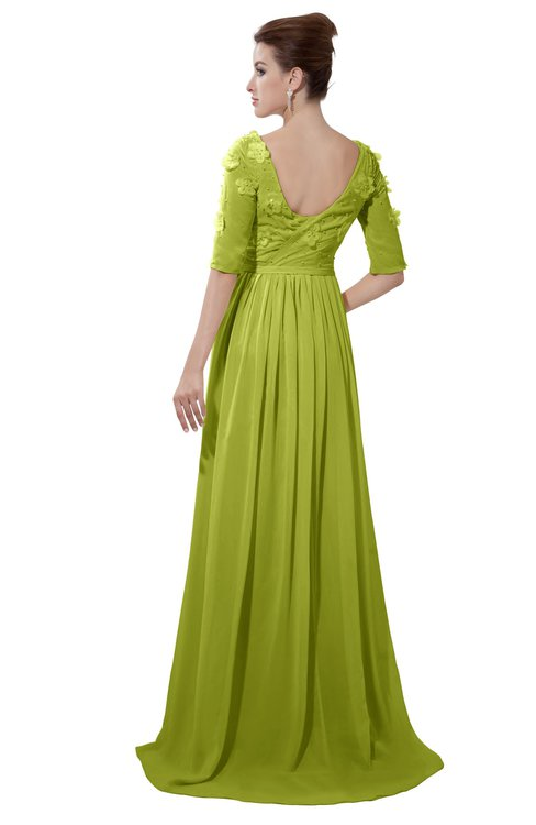 3a3049ee58337 ColsBM Emily Green Oasis Casual A-line Sabrina Elbow Length Sleeve Backless  Beaded Bridesmaid Dresses