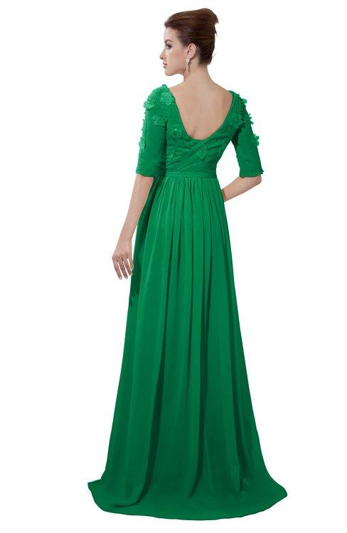 ColsBM Emily Jelly Bean Casual A-line Sabrina Elbow Length Sleeve Backless Beaded Bridesmaid Dresses