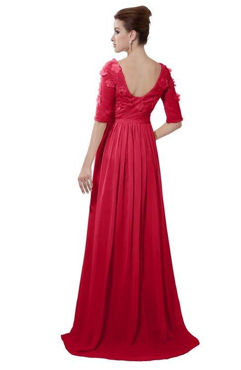 ColsBM Emily Lollipop Casual A-line Sabrina Elbow Length Sleeve Backless Beaded Bridesmaid Dresses