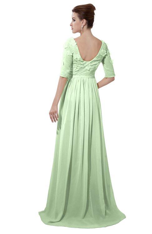 ColsBM Emily Seacrest Casual A-line Sabrina Elbow Length Sleeve Backless Beaded Bridesmaid Dresses