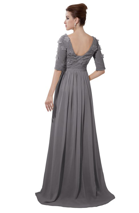 ColsBM Emily Storm Front Casual A-line Sabrina Elbow Length Sleeve Backless Beaded Bridesmaid Dresses