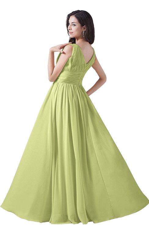 ColsBM Alana Lime Green Bridesmaid Dresses - ColorsBridesmaid