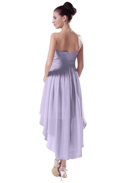 eb07810d2d44a ... ColsBM Victoria Light Purple Hawaiian A-line Sleeveless Chiffon Tea  Length Ruching Evening Dresses