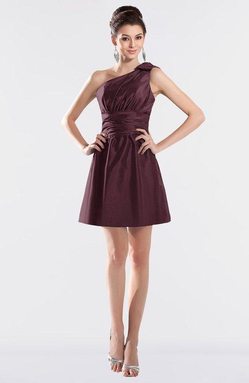 Short Bridesmaid Dresses Windsor Wine Color Gowns