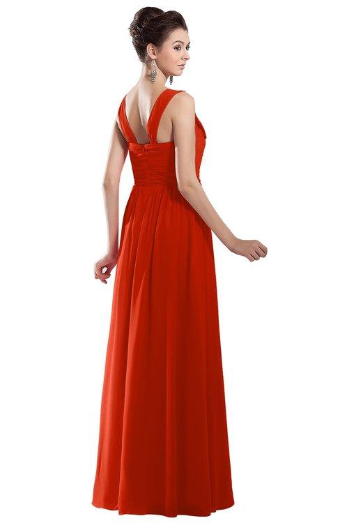 ColsBM Alena Tangerine Tango Bridesmaid Dresses - ColorsBridesmaid