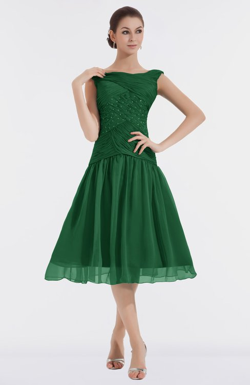 ColsBM Alissa Eden Cute A-line Sleeveless Knee Length Ruching Bridesmaid Dresses
