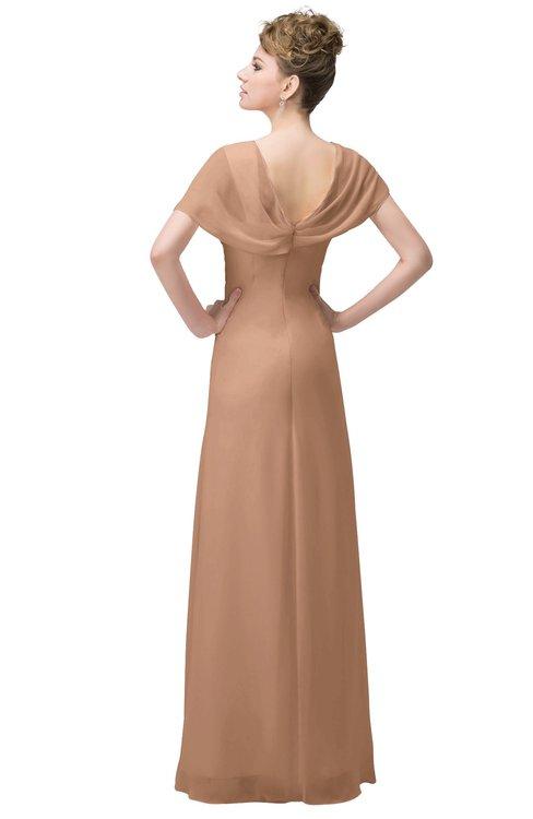 Colsbm Luna Burnt Orange Bridesmaid Dresses Colorsbridesmaid