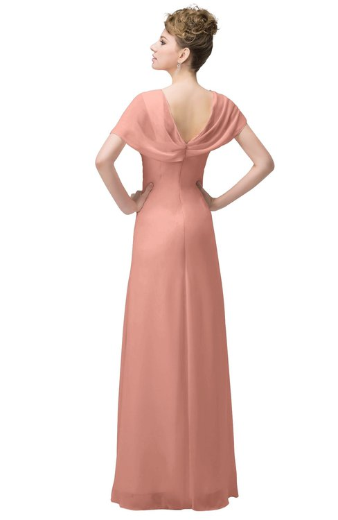 ColsBM Luna Peach Bridesmaid Dresses - ColorsBridesmaid