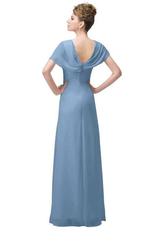 Colsbm Luna Sky Blue Bridesmaid Dresses Colorsbridesmaid