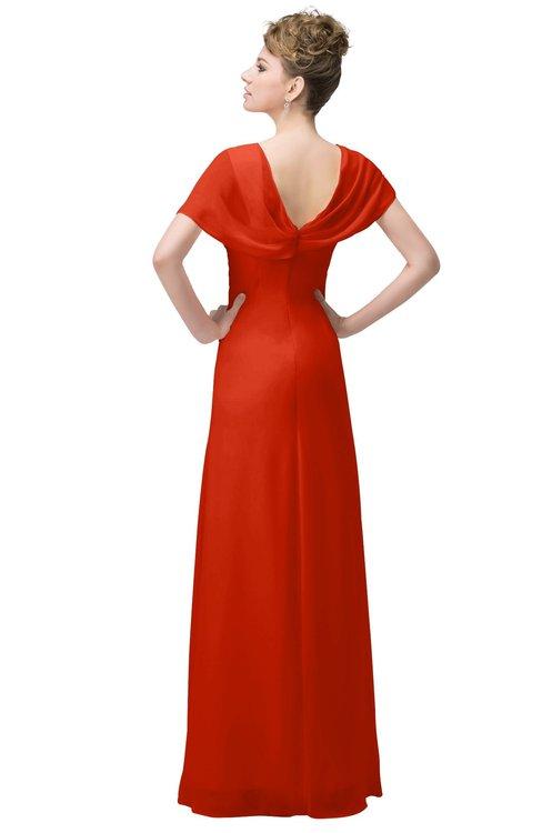 ColsBM Luna Tangerine Tango Bridesmaid Dresses - ColorsBridesmaid