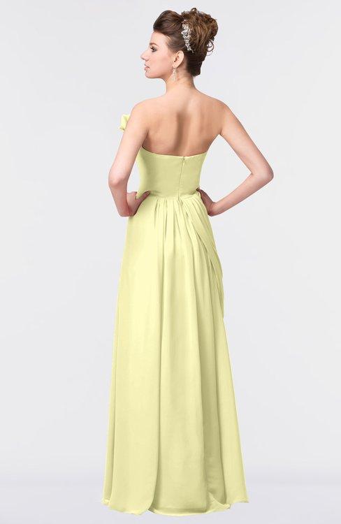 Colsbm Gwen Wax Yellow Bridesmaid Dresses Colorsbridesmaid